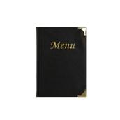 MC-BRA5-BL Κατάλογος MENU BASIC A5 για Εστιατόρια / cafe 18x25cm, μαύρος, SECURIT