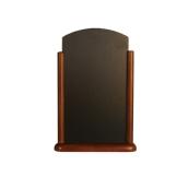 ELE-DB-LA Επιτραπέζια Σήμανση-Πίνακας 7 x 26 x 40cm, σκούρο καφέ, SECURIT