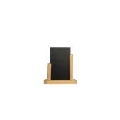 ELE-B-SM Επιτραπέζια Σήμανση-Πίνακας 5 x 16 x 17cm (A6),ανοιχτό ξύλου, SECURIT