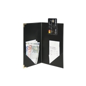 MC-CRBP-BL Θήκη λογαριασμού CLASSIC για Εστιατόρια / cafe 13x23cm, μαύρη, SECURIT