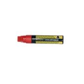 BL-SMA720-RD Μαρκαδόρος υγρής κιμωλίας με φαρδιά μύτη, σε χρώμα κόκκινο, SECURIT