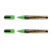 BL-SMA510-GR ΣΕΤ 2 Μαρκαδόροι υγρής κιμωλίας με μεσσαία μύτη, σε χρώμα πράσινο, SECURIT