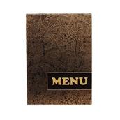 MC-DRA4-PAISLEY Κατάλογος MENU A4 PAISLEY για Εστιατόρια / cafe 24x34cm, SECURIT