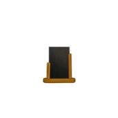 ELE-TE-SM Επιτραπέζια Σήμανση-Πίνακας 5 x 16 x 17cm (A6), χρώμα teak, SECURIT