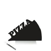 FBTA-PIZZA Επιτραπέζιο Πινακάκι με Χαρακτηριστικό Σχήμα,σειρά SILHOUETTE SECURIT