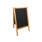 SBDW-TE-85 Επιδαπέδιος Πίνακας Διπλός 55 x 85 cm, Οικονομική Σειρά 4kg, SECURIT