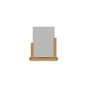 PFT-TE-ME Επιτραπέζια θήκη A5 φυλλαδίων, 6 x 20 x 23 cm, teak, SECURIT
