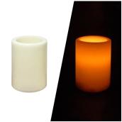 STR005 Ηλεκτρικό κερί που τρεμοπαίζει,πλαστικό περίβλημα, Φ7,5 x 10 cm