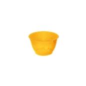 FC120CC Πλαστικό κύπελλο 120cc Διάφανο πορτοκαλί, Ιταλίας