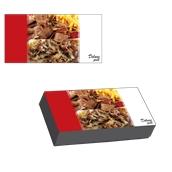 BXD-26-13-5.5/KG Κουτί Ψητοπωλείου Μεταλιζέ για μερίδα γύρο, σχέδιο Deluxe Grill (τιμή ανά κιλό)