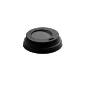 CF-LID-4OZ/BL Καπάκι Πιπίλα Mαύρο, για τα ποτήρια 4 oz