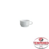 PFM-CP-80 Στοιβαζόμενη κούπα Οπαλίνης 80 ml, Λευκή, Tempered, Σειρά Performa, Bormioli Rocco