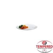 PFM-FP-19 Πιάτο Ρηχό Οπαλίνης 19 cm, Λευκό, Tempered, Σειρά Performa, Bormioli Rocco