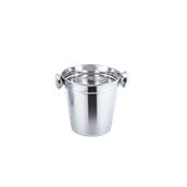 UV.502122(197-2/500ML/12.5CM) Δοχείο Πάγου Φ12.5cm, 500ml,  Ανοξείδωτο 14/1