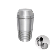 UV.500175(196-8/750ML) Cocktail Shaker 750ml με φίλτρο Ανοξείδωτο 14/1