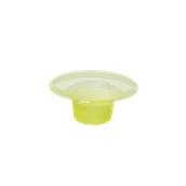 FCY100CC Πλαστικό κύπελλο Frozen Yogurt 100cc Κίτρινο, Ιταλίας