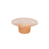 FCY150CC Πλαστικό κύπελλο Frozen Yogurt 150cc Πορτοκαλί, Ιταλίας