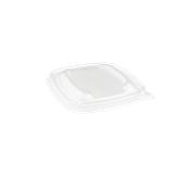 PUL53501 Καπάκι Τετράγωνο 13x13cm, RPET, Μίας Χρήσης, Διάφανο, Sabert