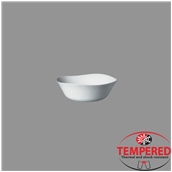 PRM-BL-14X14 Μπωλ Οπαλίνης 14x14 cm, Λευκό, Tempered, Σειρά Parma, Bormioli Rocco