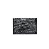 6035-19 Δίσκος Πλαστικός Παρουσίασης 13 x 9 cm, PS, Σχιστόλιθος