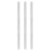 AN.11311/100T ΣΕΤ 100 τεμάχια Αναδευτήρες ΠΕΡΛΑ  22,5cm ύψος, διάφανοι, ελληνικής κατασκευής