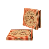 28x28x3 /PIG Κουτί Πίτσας Μικροβέλε PIGIAMA 28x28x3cm, Ιταλίας