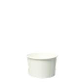 CPW-8OZ Κύπελο Παγωτού Χάρτινο Λευκό 8 OZ για 2 μπάλες