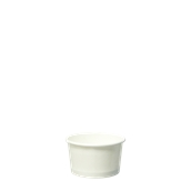 CPW-4OZ Κύπελο Παγωτού Χάρτινο Λευκό 4 OZ για 1 μπάλα