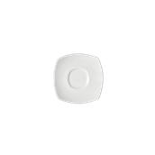 LQ4-SC-14 Πιατάκι κούπας, πορσελάνης 13x13 - φ14cm, Σειρά Q4, LUKANDA