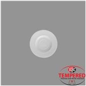 TOL-SC-22 Πιατάκι 14cm κούπας 22cl Οπαλίνης, Λευκό, Tempered, Σειρά Toledo, Bormioli Rocco