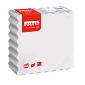 81010001 ΠΑΚΕΤΟ 500 Χαρτοπετσέτες 1Φ 15x15 MG λευκές, FATO Ιταλίας