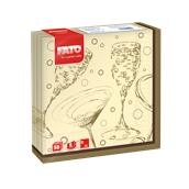 82593900 ΠΑΚΕΤΟ 50 Χαρτοπετσέτες 2Φ 33x33 Toast, FATO Ιταλίας