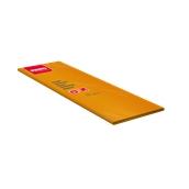 86325500 Τραπεζομάντηλο πολυτελείας με πλαστικό PE 100x100 πορτοκαλί, FATO Ιταλίας