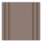 88551100 Τραπεζομάντηλο Airlaid 100x100 Tweed σοκολατί, FATO Ιταλίας