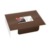 88540300 ΠΑΚΕΤΟ 250 Airlaid ΣΟΥΠΛΑ 30x40 Tablewear σοκολατί, FATO Ιταλίας