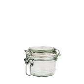 FIDO-200 Δοχείο FIDO 200 ml με γυάλινο καπάκι και λάστιχο, Bormioli Rocco, Ιταλίας
