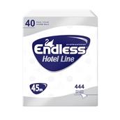 1100124007 Ρολό υγείας Hotel Line 2φυλλο 45 μέτρων, 125 gr, ENDLESS