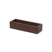 000.194/DK Ξύλινη Κασετίνα Λαδόξιδου 23,5x7,7x5,5 cm, σκούρα καφέ