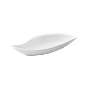 "PY0AD140000 /A Βαθύ Πιάτο σε σχήμα ""S"" Πορσελάνης 32x14cm, Σειρά PARTY, λευκό"