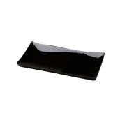 PY0AH140779 /A Δίσκος SUSHI Πορσελάνης 31x15cm, Σειρά PARTY, μαύρος