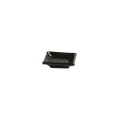 PY0AH160779 /A Δίσκος SUSHI Πορσελάνης 10x6, Σειρά PARTY, μαύρος