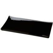 PY0AH130779 /A Δίσκος SUSHI Πορσελάνης 41x20cm, Σειρά PARTY, μαύρος