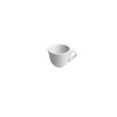 TB015100000 /A Φλυτζάνι Πορσελάνης DAISY 75cc, Σειρά TORREF B, λευκό