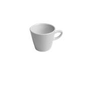 EC016140000 /A Φλυτζάνι Πορσελάνης 175cc, DIANA, λευκό