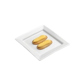 PY0AH600000 /A Δίσκος Τετράγωνος 15x15cm, Σειρά PARTY, λευκός
