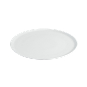 CI022410000 /A Πιατέλα Πίτσας Πορσελάνης Φ33cm, Σειρά Cinzia, Λευκή