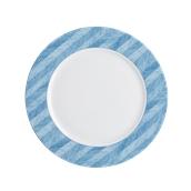 OL022328082 /A Ρηχό Πιάτο Στρογγυλό Πορσελάνης 32cm, Σειρά OLIVA TWE, Μπλε