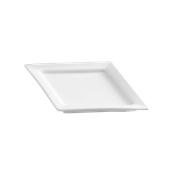 PY0AD170000 /A Πιάτο Ρόμβος Πορσελάνης 21x15cm, Σειρά PARTY, λευκό