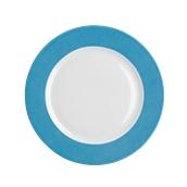 OL022328004 /A Ρηχό Πιάτο Στρογγυλό Πορσελάνης Φ32cm, Σειρά OLIVA SUN, Μπλε