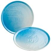 CIR2233AB42 /A Πιατέλα Πίτσας Πορσελάνης Φ33cm, Σειρά Cinzia, με σχέδιο, μπλε